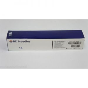 "BD Quincke Long Spinal Needles 22 G x 7"" (black)"