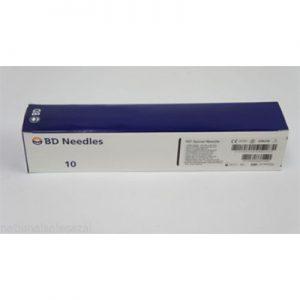 "BD Quincke Long Spinal Needles 22 G x 5"" (black)"