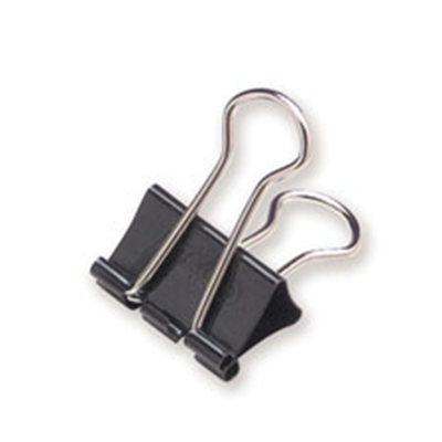 Binder Clips Foldback Clips, 1 1/4″, 12 per Box