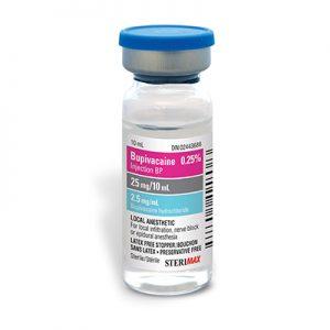 Marcaine (Bupivicaine) Injection BP/0.25% (10ml x 10ml) (25mg / 10ml)