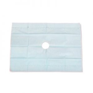 "Drape Sheet Fenestrated 18"" x 26"" Sterile"