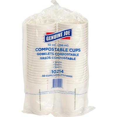 Genuine Joe Eco-friendly Paper Cups