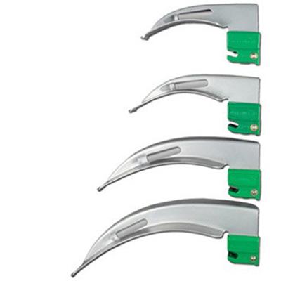 Laryngoscope Blades 1, 2, 3, 4