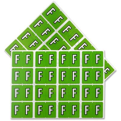 Pendaflex Colour Coded Label Letter F