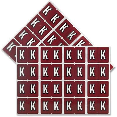 Pendaflex Colour Coded Label Letter K