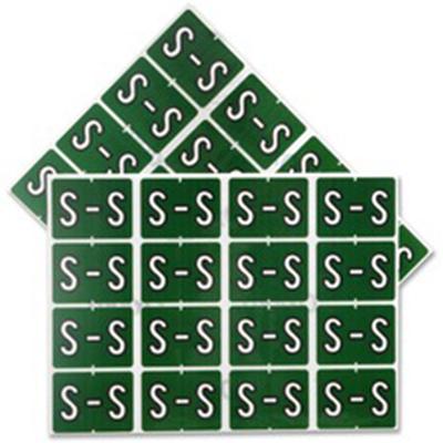 Pendaflex Colour Coded Label Letter S