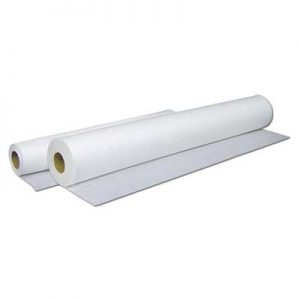 "Premium Jumbo Crepe Table Paper 18"" Wide 6 rolls/case 250'/Roll - Double the Length"