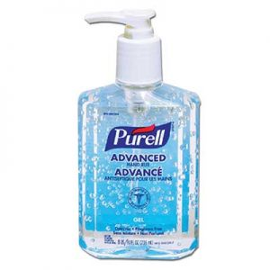 Purell® Advanced Hand Sanitizer 70% Gel 236mL (8oz) Pump Bottle