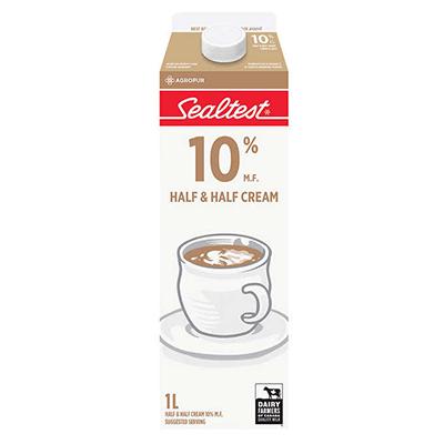 Sealtest 10% Half & Half Cream