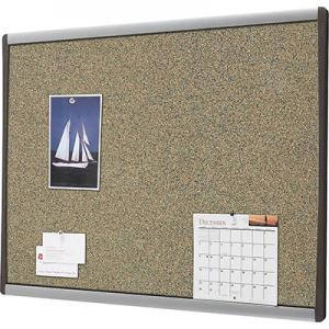 "Staples Premium Coloured Cork Bulletin Boards, Aluminum Frame, 18"" x 24"""