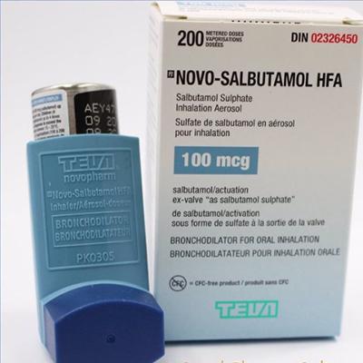 Teva-Salbutamol HFA Spray 100 mcg/dose