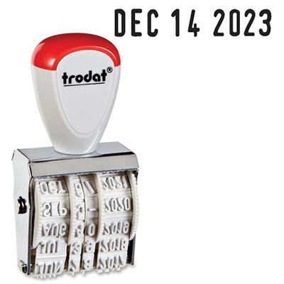 Trodat 12 Year Manual Line Dater Stamp