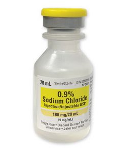 0.9% Sodium Chloride (Saline) 20mL