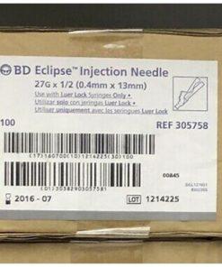 "BD™ Eclipse™ Safety Needle 25G x 1 1/2"" (grey)"