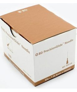 BD™ PrecisionGlide™ Needle 30G X 1″ Non-Safety (brown)