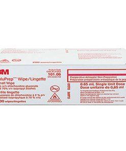3M SoluPrep Wipe (Small) 2% CHG & 70% Alcohol 200/box