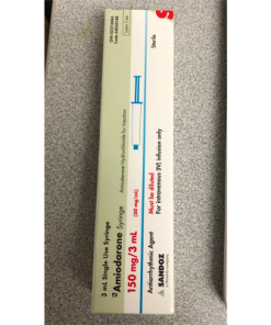 Amiodarone Syringe 150 mg/ 3 mL