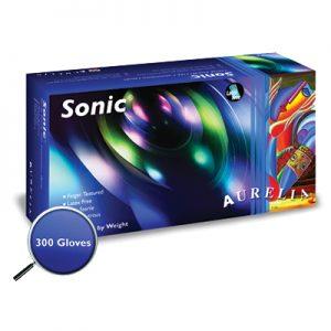 Aurelia® Sonic® Nitrile Powder-Free Exam Gloves (Medium) 300/box