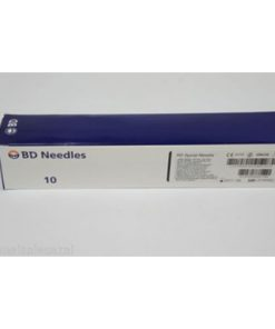"BD Quincke Long Spinal Needles 22 G x 5"" (black)"
