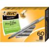 BiC Round Stic Ballpoint Pens - Black