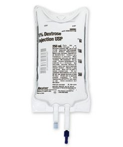 Baxter IV Bag Dextrose 5% 250ml 30/Case