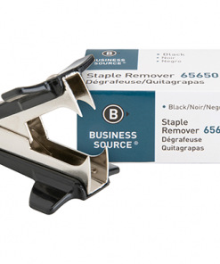 Business Source Nickel-plated Teeth Staple Remover