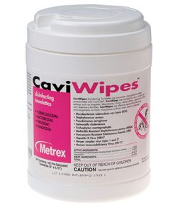 CaviWipes™ (6″ x 6.75″) – 160 Wipes Per Canister