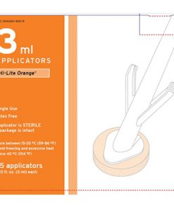 ChloraPrep® Applicator 3 mL Tinted Hi-Lite (orange)