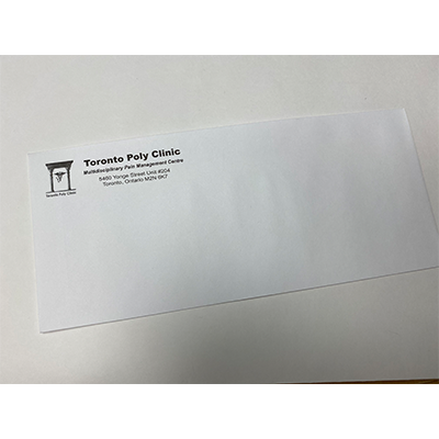 Envelopes with TPC logo White