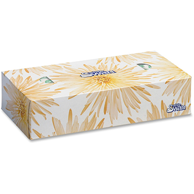 Facial Tissues White Swan 36 boxes/case