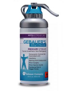 Gebauer's Ethyl Chloride Topical Anesthetic Medium Stream Spray 3.5oz