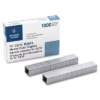 """Heavy Duty Staples 3/8"""" Business Source Pack of 1000"""