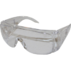 "IMPACT PRODUCTS, LLC Safety Glasses, Wraparound, 6-3/10""Wx4-1/4""Lx1-4/5""H, Clear"