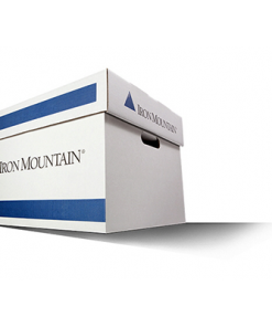 Iron Mountain Storage Box