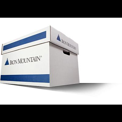 Iron Mountain Storage Box