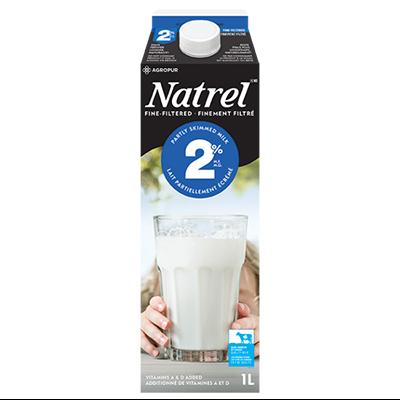Natrel Partly Skimmed Milk 2%