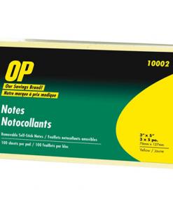 "OP Brand Adhesive Note Pad 3"" x 5"""