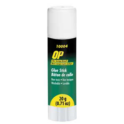 OP Brand Glue Sticks, 20 g