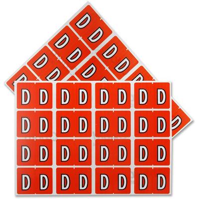 Pendaflex Colour Coded Label Letter D