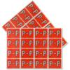 Pendaflex Colour Coded Label Letter P