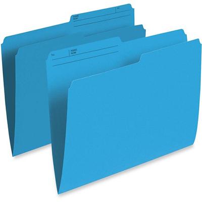 OP Brand File Folder Letter - Blue