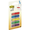 Post-it Arrow Flags, Assorted Primary Colors, 1/2 in. Wide, On-the-Go Dispenser