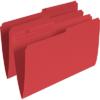 Pendaflex Single Top Vertical Coloured File Folder Legal - Red