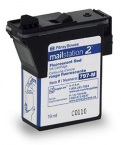 Red Ink Cartridge for mailstation2™ postage meters