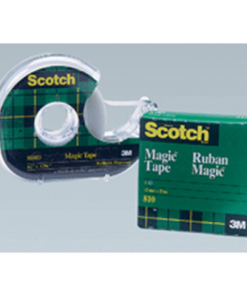 Scotch® Magic Tape, Refill Roll, 19.0 mm x 32,9 m