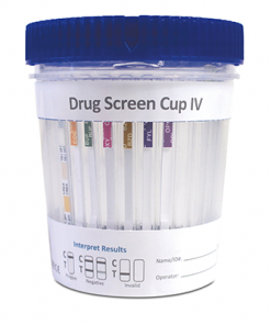 Trimedic Urine Cups - Drugs of Abuse Integrated Cup with Urine