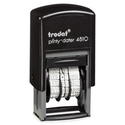 Trodat Printy Pocket Dater Stamp