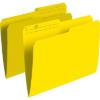 OP Brand File Folders Letter - Yellow